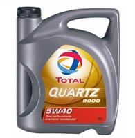 Масло моторное синтетическое QUARTZ 9000 5W-40, 4л